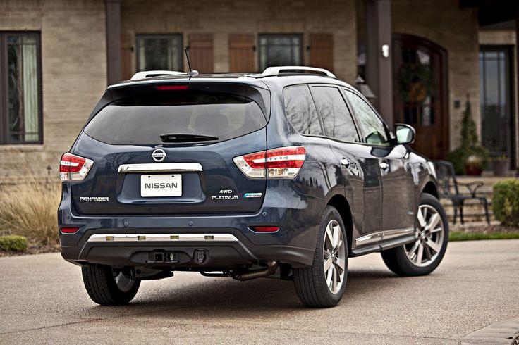 Новый гибридный Nissan Pathfinder 2014 – экономный внедорожник показали в Нью-Йорке