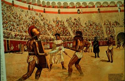 the theme of death of roman gladiators in gladiator battles Roman blood, gore, gladiators, circus, fun and games  reviews/analysis: the question - for those gladiator gurus who have seen the movie  the  gladiator of ancient rome fought (many times to the death) for the pleasure and.