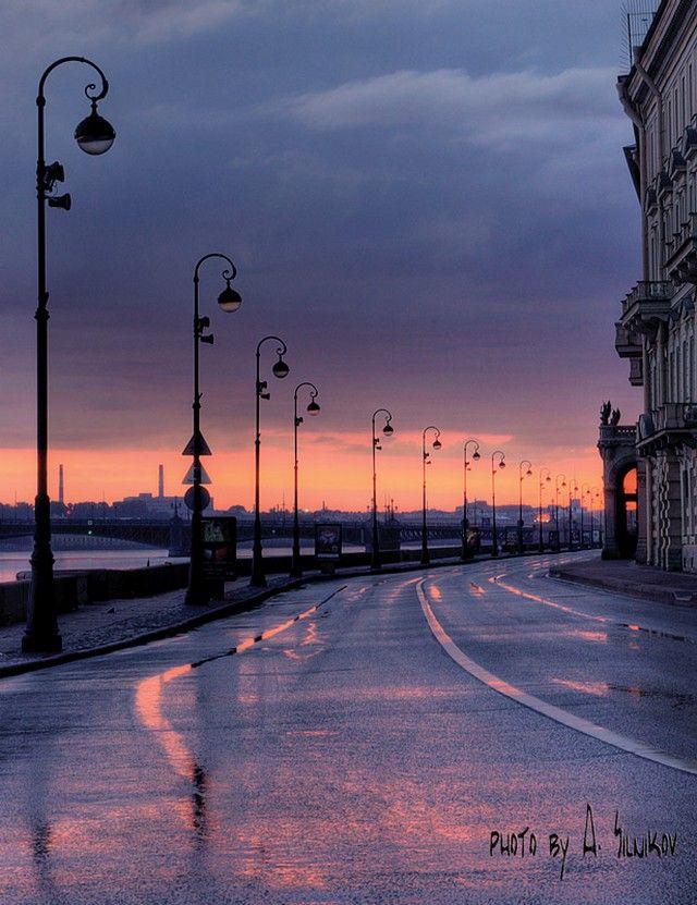 фотосессия по городу санкт петербург установили блок