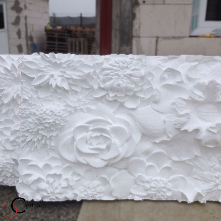 Panou decorativ 3D sala evenimente si nunti cu flori