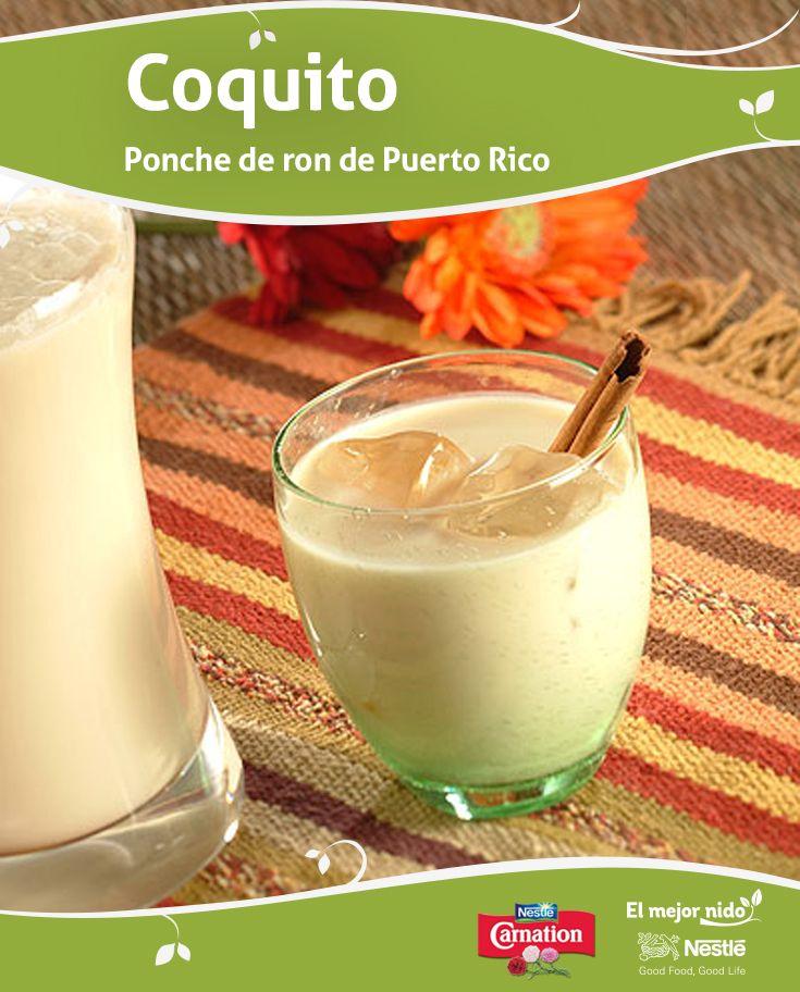 ¿Has intentado hacer el coquito en casa con leche Carnation? ¡Es más simple de lo que te imaginas! Esta receta de coquito, un ponche de ron tradicional de Puerto Rico, es dulce, cremoso y con gran sabor del coco. ¡Salud!