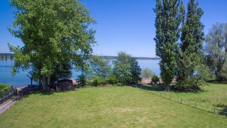 Bauland mit Bootshaus direkt am See in Ermatingen