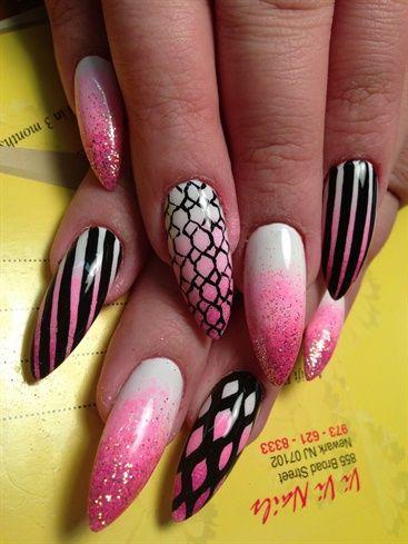 Bright  by Kathy_nguyen - Nail Art Gallery nailartgallery.nailsmag.com by Nails Magazine www.nailsmag.com #nailart
