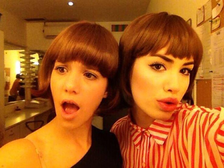 Angela Torres y Lali Esposito