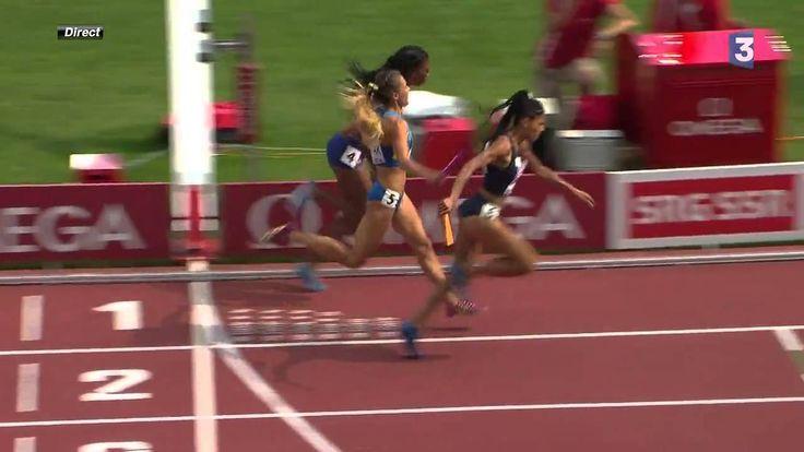 INCROYABLE - Relais 4x400m Femme, Championnats d'Europe 2014