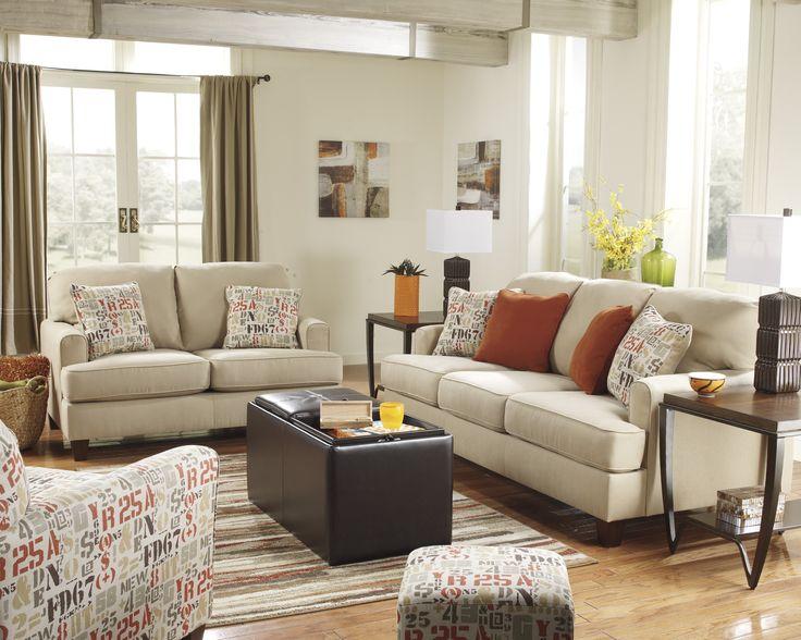 61 best interiors | living room | #ashleyfurniture images on pinterest