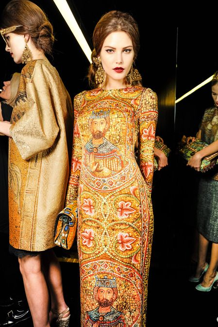 Dolce Gabbana Fall 2013 Ready To Wear Collection Vinter 2013 14 Pinterest