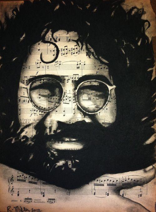 ☆ Jerry Garcia :¦: Artist Rebecca Miller ☆