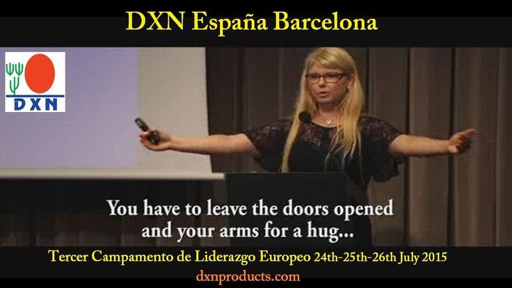 DXN España Tercer Campamento de Liderazgo Europeo (Barcelona 2015)