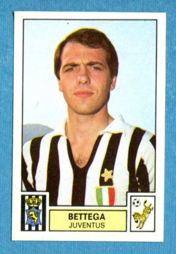 CALCIATORI-1975-76-Panini-Figurina-Sticker-n-151-BETTEGA-JUVENTUS-Rec
