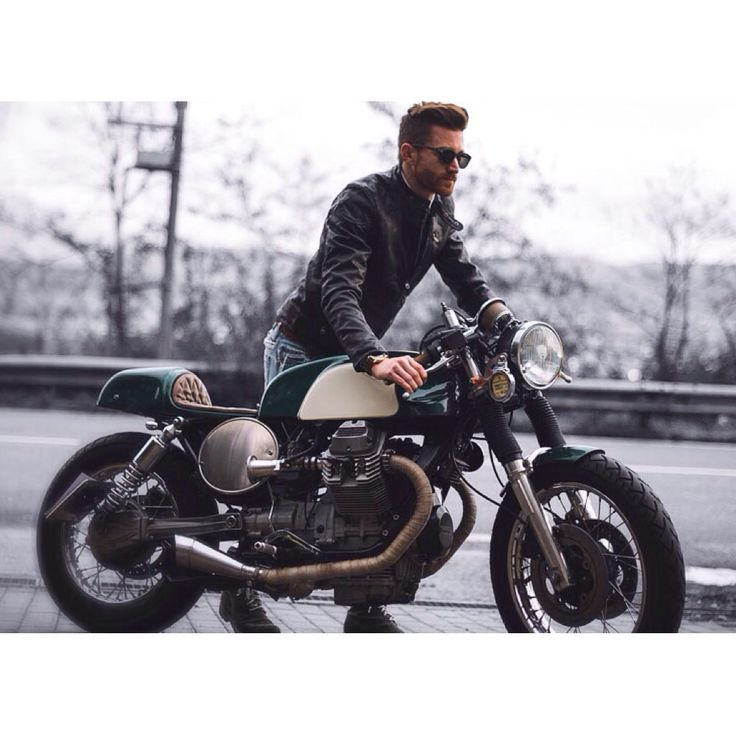 Cafe Racer Style Motorcycle Boots