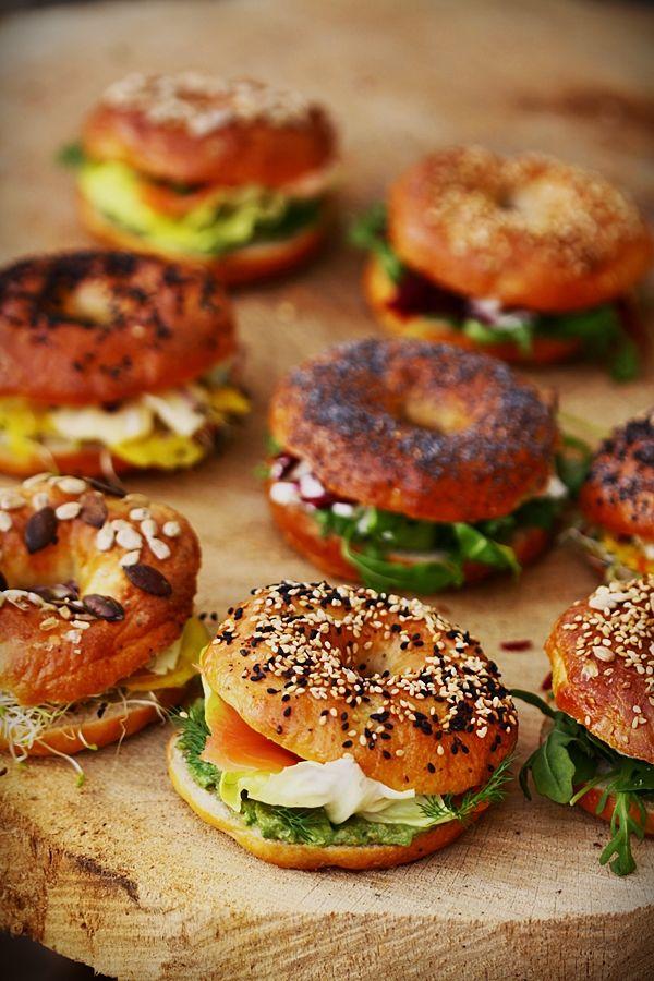 J'ai besoin de nouvelles idées pour mes pique-nique du midi au boulot... (bagels - Cuisine campagne de Lilo)