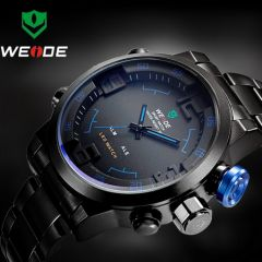 High quality premium band, quartz movement, Buy-it-now and have delivered to your door with Free Shipping.  Sale price is valid for a limited time only. From 109 USD to 34 USD !!! Only on menswatchbox.com