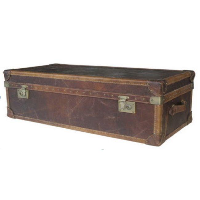 Vintage Trunk Soffbord Stor - TheHome - Möbler på nätet