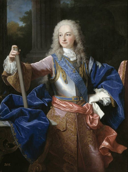 Luis I, King of Spain (25 August 1707 – 31 August 1724) was King of Spain from 14 January 1724 until his death. His reign is recorded as one of the shortest in history, as he was king for just over seven months.