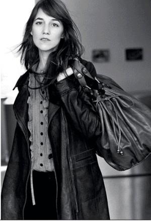 Charlotte Gainsbourg pour la Collection Automne Hiver 07-08 de Gérard Darel