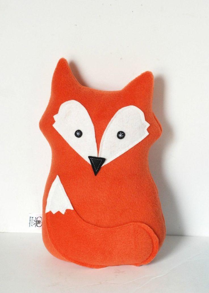 Plush Felix Fox Nursery Pillow Stuffed Animal