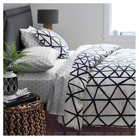 Set the scene with a wide range of bold colors, unexpected prints and globally inspired patterns for bedding, furniture, lamps, rugs and more. This Nate Berkus collection creates a bedroom that's right on trend.