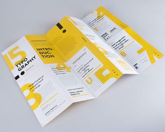 35 Creative Examples of Typographic Brochure Designs in 2020 ...