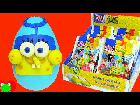 SpongeBob Out of Water MegaBlok Blind Bags - YouTube