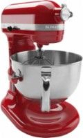 KitchenAid - Professional 600 Series Stand Mixer - Empire Red - Angle