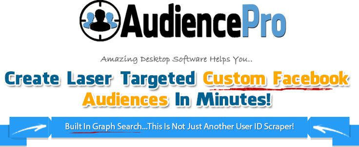 FB Audience Pro http:facebook.com/jirisram