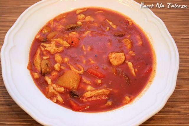 Zupa gulaszowa ekspresowa