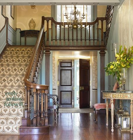42 best georgian staircases images on pinterest for Georgian staircase design