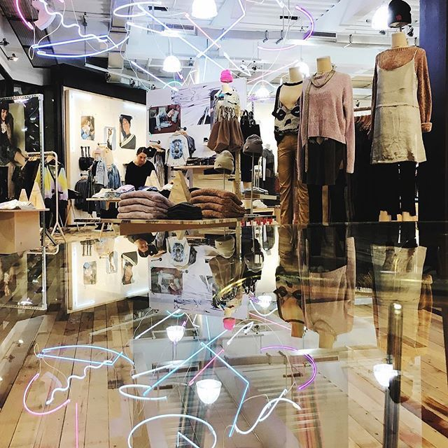 """URBAN OUTFITTERS, Portland, Oregon, """"A Relaxed Outlook"""", pinned by Ton van der Veer"""