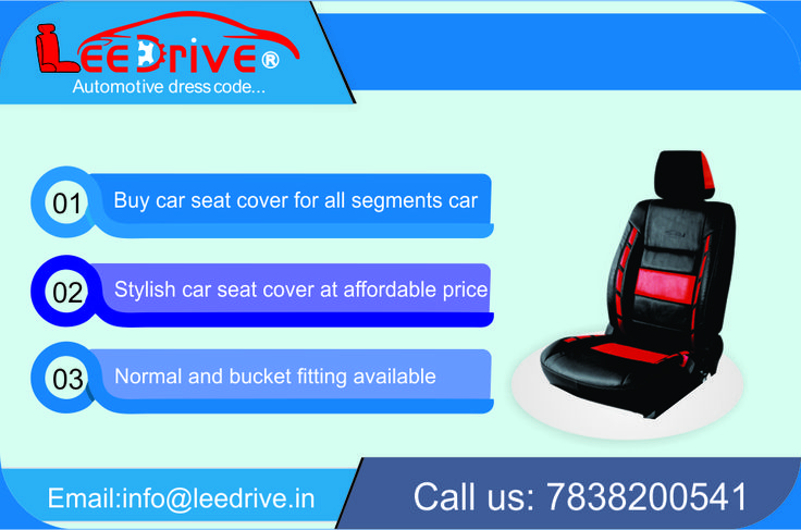 Buy Your Own Car Seat Covers Online in Various Latest Designs in Delhi. You can call us @ 7838200541