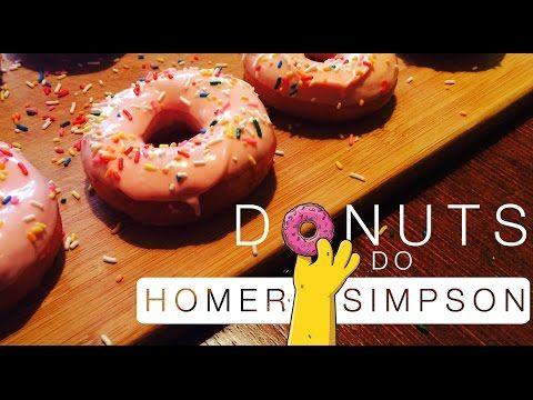 Aprenda a fazer os Donuts do Homer Simpson