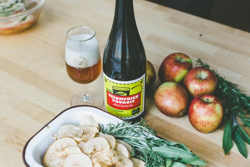 GBH Provisions — Harvest Apple Chips and Triomfbier Vooruit