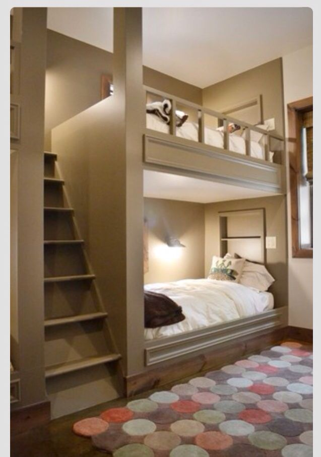 Bunk beds (for the kids)