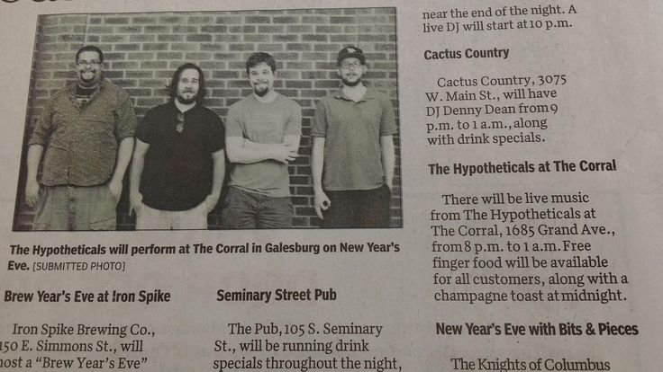 Band Made the Local Paper. Used this Picture of Us. #funny #meme #LOL #humor #funnypics #dank #hilarious #like #tumblr #memesdaily #happy #funnymemes #smile #bushdid911 #haha #memes #lmao #photooftheday #fun #cringe #meme #laugh #cute #dankmemes #follow #lol #lmfao #love #autism #filthyfrank #trump #anime #comedy #edgy