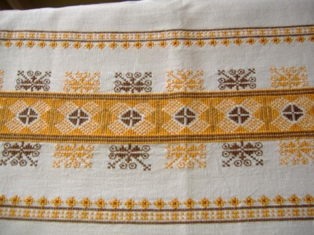 Embroidery for a pillow (Slovakia)