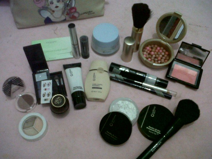 my various make-up and tools