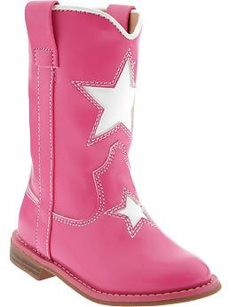 Star-Graphic Western Boots for Baby   Old Navy - Lilly saw these there the other day and wanted them.