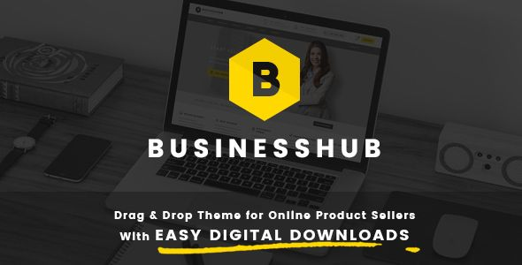 BusinessHUB is a powerful WordPress theme that let you sell your digital products online easily with the legendary plugin Easy Digital Downloads. This theme is an online store for your softwares, design works, fonts, photos, video, audio, e-books and even website template, you name it.