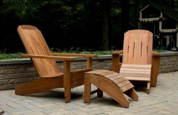 Adirondack Chair of Mahogany