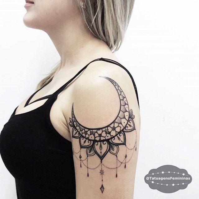Moon Ornamental Ornamental Moon Tatowierer J Jonaslimatattoo Tattoot Inspiracion Para Tatuaje Tatuajes Delicados Femeninos Tatuajes Femeninos