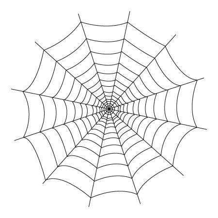 The 25 best Spider web drawing ideas on Pinterest Black widow