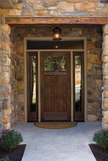 17 best images about front doors on pinterest the doors black front doors and front doors - Black craftsman front door ...