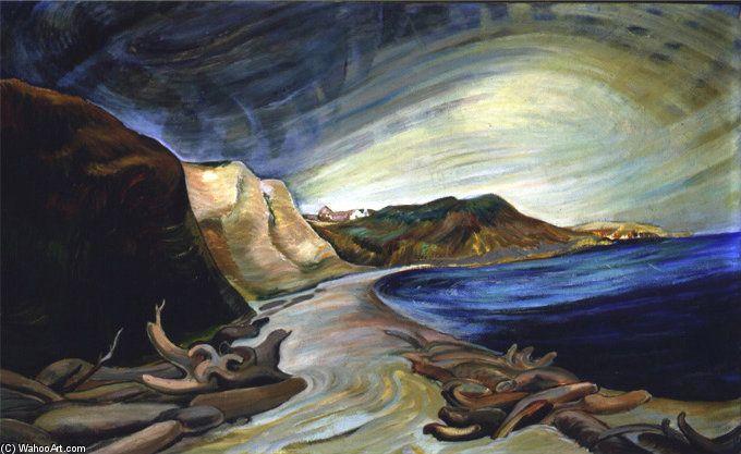 Shoreline de Emily Carr (1871-1945, Canada)