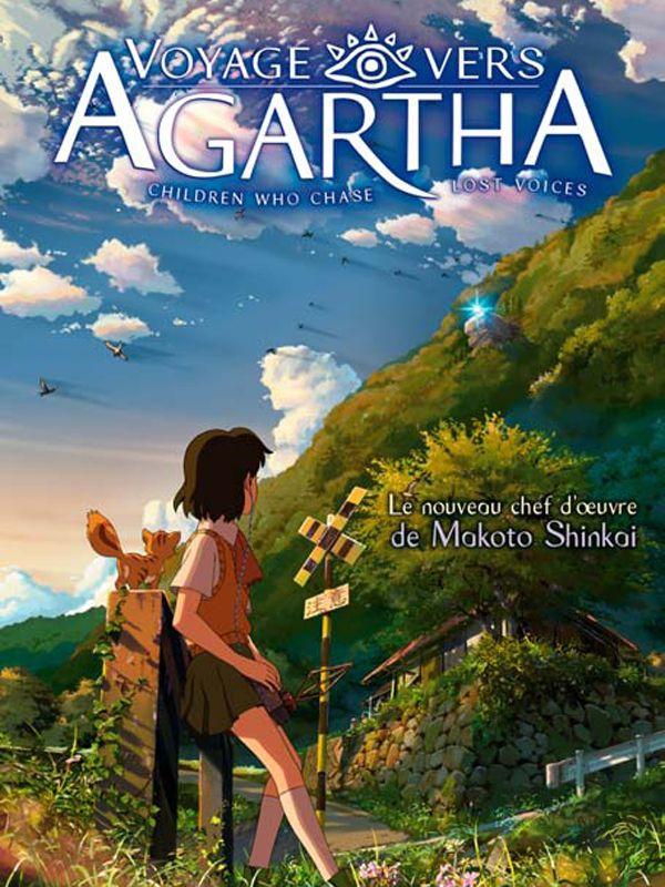 Long-métrage d'animation de Makoto Shinkai Fantastique, romance et animation 1 h 56 min  7 mai 2011 Avec Hisako Kanemoto, Kazuhiko Inoue et Miyu Irino Hoshi o Ou kodomo narre le périple d'une jeune écolière, Asuna, accompagnée de son professeur, Ryuji. Cette première, après une rencontre avec un garçon bien étrange nommé Shun, va rapidement se mettre à fuir vers un monde souterrain: Agartha. Voici son histoire.