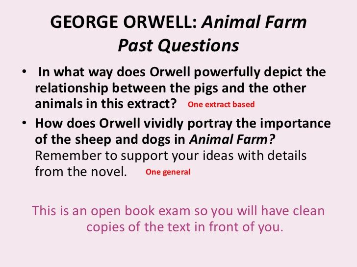 essay on animal farm napoleon An essay or paper on napoleon's power in animal farm &quotoutline the ways in which napoleon obtained and maintained power on animal farm what message.