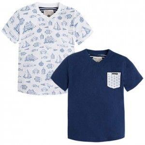 MAYORAL komplet 2 koszulki 3038 97