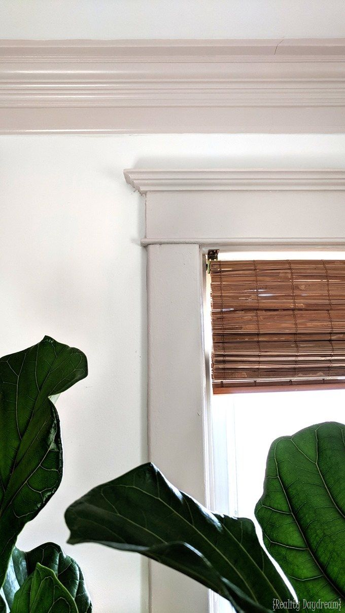 Installing Crown Molding To Be Super Chunky And Beefy Painting Trim Moldings Trim Painting Wood Trim