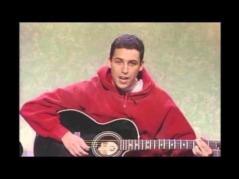 Weekend Update: Adam Sandler and the Hanukkah Song - Saturday Night Live - YouTube
