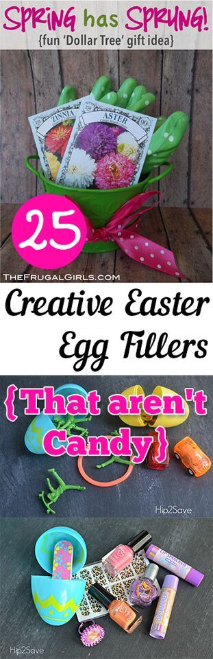25 Creative Easter Egg Fillers {That Aren't Candy