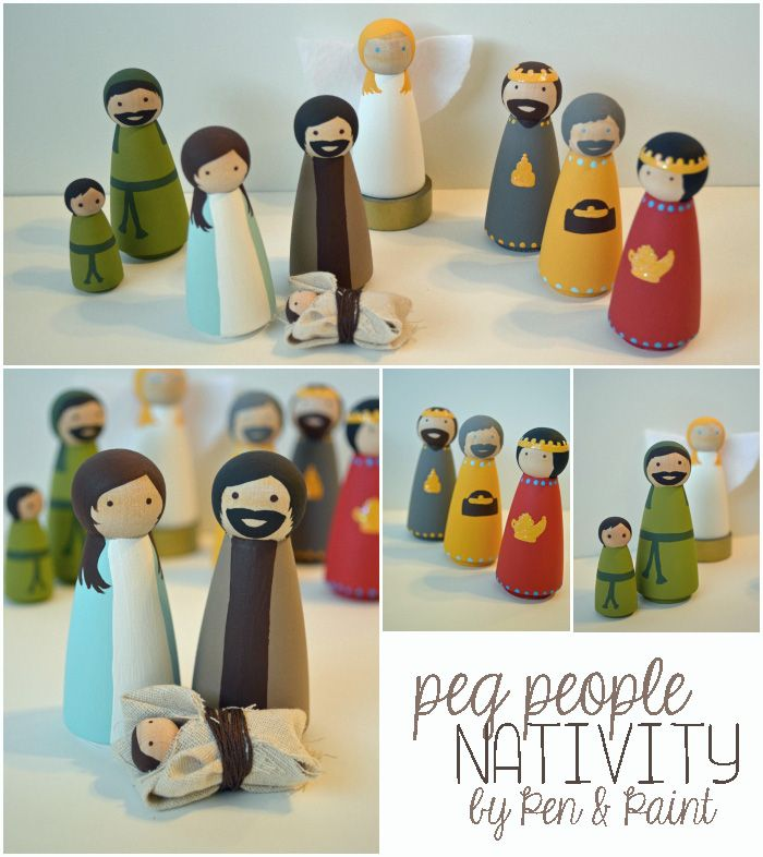 from the nato's: nativity set giveaway!
